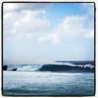 Photo taken at Banzai Pipeline by Don N. on 2/18/2013