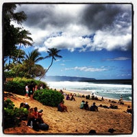 Photo taken at Banzai Pipeline by Don N. on 2/15/2013