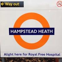 Photo taken at Hampstead Heath London Overground Station by Alan B. on 11/14/2013