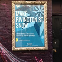 Photo taken at Make Rivington St Snow by Alan B. on 12/15/2012