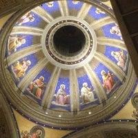 Photo taken at Basilica di Sant'Agostino in Campo Marzio by Derrick P. on 1/1/2013