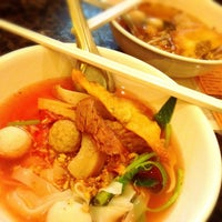 Photo taken at Li Fishball Noodle Restaurant by Kung T. on 5/17/2014