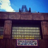 Photo taken at Manhattan Detention Complex by Amy H. on 6/7/2014