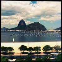 Photo taken at Enseada de Botafogo by Mayara A. on 10/8/2012