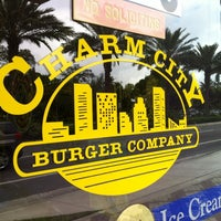 Photo taken at Charm City Burger Company by Chris T. on 1/29/2013