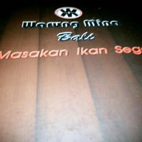 Photo taken at Warung Mina by Ayu P. on 5/9/2015