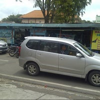 Photo taken at Perempatan Senen by Lucas L. on 4/15/2014