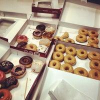 Photo taken at Krispy Kreme by Aaron B. on 11/28/2012