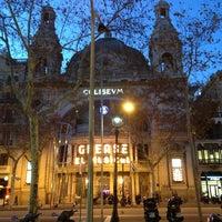 Photo taken at Teatre Coliseum by Burak A. on 1/16/2013