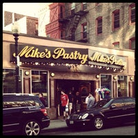 Photo taken at Mike's Pastry by Jessica C. on 4/25/2013