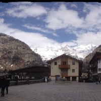 Photo taken at Courmayeur by Ch D. on 4/8/2016