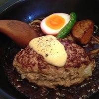 Photo taken at 山本のハンバーグ 恵比寿本店 by Fusako O. on 4/22/2013