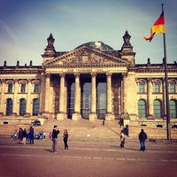 Photo taken at Reichstag by Julia S. on 4/21/2013