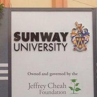 Photo taken at Sunway University by Muhammad Nurfirdaus N. on 8/22/2016