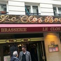 Photo taken at Le Clos Bourguignon by Jae Gook L. on 5/19/2014