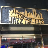 Photo taken at Blue Note by Dennis N. on 3/15/2013