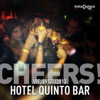 Photo taken at Hotel Quinto Bar by Angelo H. on 7/20/2013