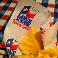 Photo taken at Lone Star Texas Grill by Richard B. on 5/5/2012
