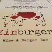 Photo taken at Zinburger by kAZual520 on 5/12/2013