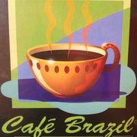 Photo taken at Cafe Brazil by AM™ on 7/21/2013