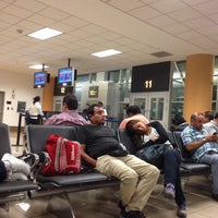 Photo taken at Puerta / Gate 11 by Christian A. on 4/6/2015