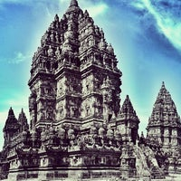 Photo taken at Candi Prambanan (Prambanan Temple) by Daniel F. on 6/24/2013