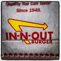 Photo taken at In-N-Out Burger by Justin S. on 9/26/2012