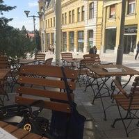 Photo taken at Marica Café-Bar & Restaurant by Péter V. on 9/23/2015