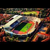 Photo taken at Stadio Renato Dall'Ara by Associazione Succede solo a B. on 9/17/2012