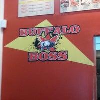 Photo taken at Buffalo Boss by Ralph on 12/21/2012