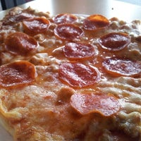 Photo taken at J & S Pizza by Noah A. on 1/24/2013