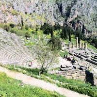 Photo taken at Archaeological Site of Delphi by Alexandros D. on 3/17/2013