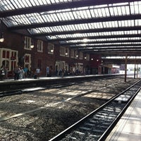 Photo taken at Stoke-on-Trent Railway Station (SOT) by Jens H. on 7/14/2013