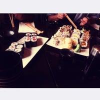 Photo taken at Takara Sushi by Merve K. on 8/4/2014
