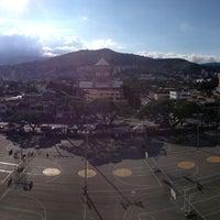 Photo taken at Canchas Panamericanas by Juan Jose N. on 3/19/2013