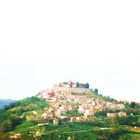 Photo taken at Motovun - Montona by barbi on 4/20/2013