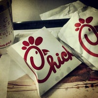 Photo taken at Chick-fil-A Broadcasting Square by Jeffrey H. on 2/7/2013