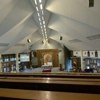 Photo taken at Gereja Katolik Santo Andreas by Novita T. on 6/9/2013