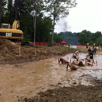 Photo taken at Warrior Dash by Susan R. on 4/21/2012