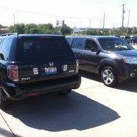 Photo taken at Brad Barker Honda by Dave O. on 8/7/2012