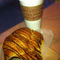 Photo taken at Firehook Bakery and Coffee House by Kelly G. on 5/22/2012