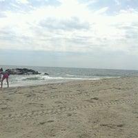 Photo taken at Long Branch Beach by Jennifer D. on 7/10/2012