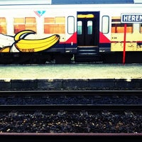 Photo taken at Station Herentals by Ann W. on 3/7/2012
