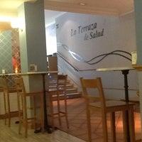 Photo taken at Restaurante La Terraza de Salud by Lord E. on 7/29/2012