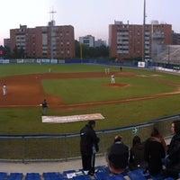 Photo taken at Centro Sportivo Aldo Notari - Stadio Nino Cavalli by Nicole M. on 5/18/2012