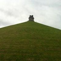 Photo taken at Butte du Lion de Waterloo by Daan V. on 7/20/2012