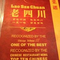 Photo taken at Lao Sze Chuan Restaurant by Diego on 9/1/2012