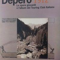 Photo taken at Casa d'Arte Futurista Fortunato Depero by M c M. on 3/30/2012