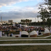 Photo taken at Curtis Hixon Waterfront Park by Fred H. on 4/14/2012