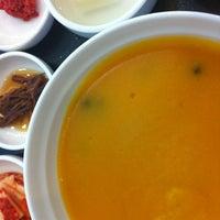 Photo taken at 본죽 학동점 by Yoo Won L. on 6/28/2012